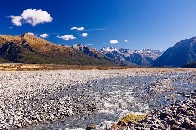 Waimakariri River Valley