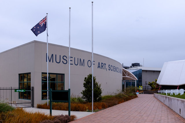 The venue of NG Exhibition - The Museum of Art, Science and History in Palmerston North