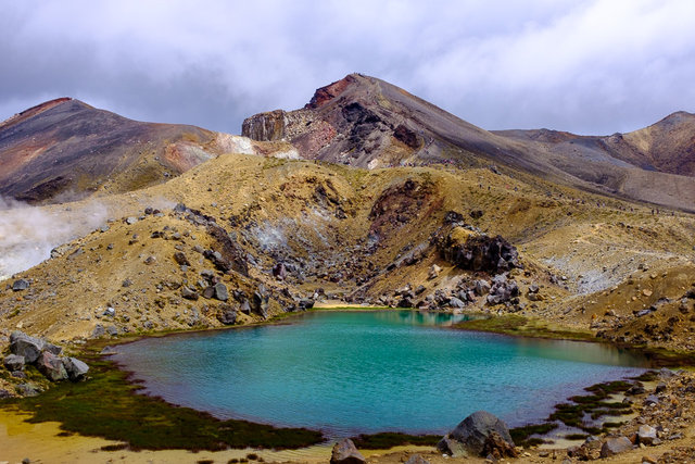 One of Emerald lakes