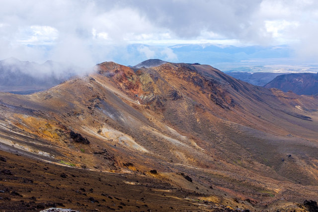 View from Tongariro Summit Track