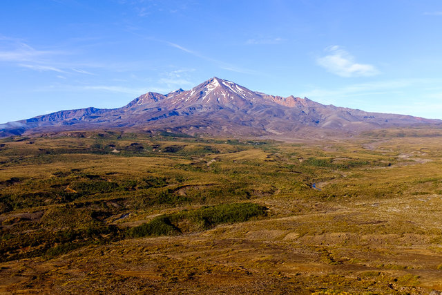 Mt Ruapehu again, this time with clear sky