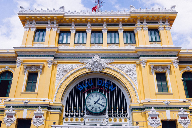 Ho CHi Minh -- Post Office