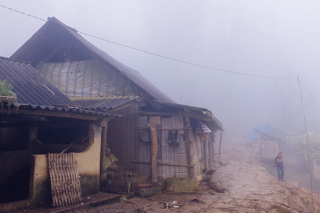 A remote settlement of Hmong minority