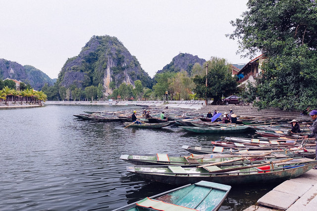 Shipping spot for ride at Tam Coc